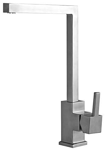 Sanlingo - Küchenarmatur aus Edelstahl mit 360° Schwenkauslauf