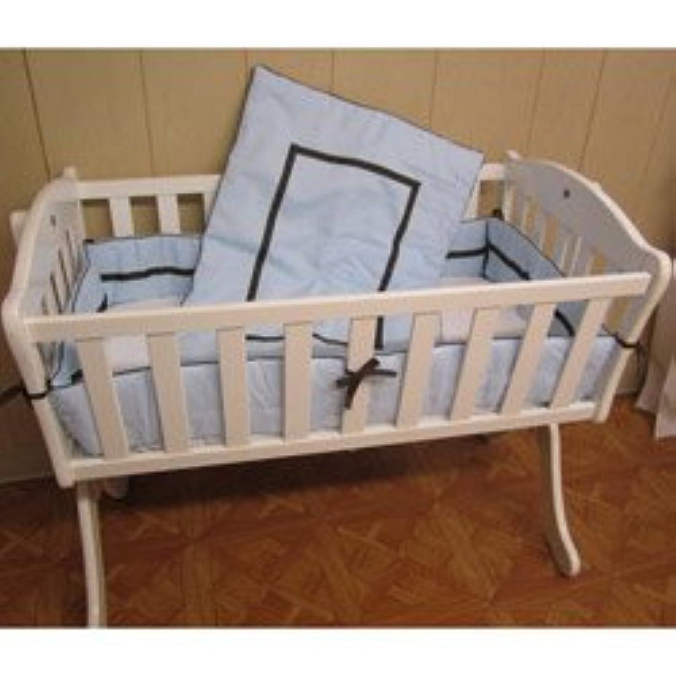 Babykidsbargains Friendship Cradle Bedding, Blue, 15