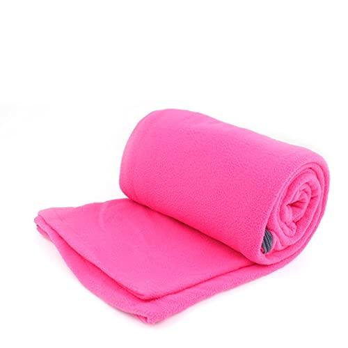 Cojj Outdoor Microfiber Fleece Sleeping Bag Bag Liner Camping Trip Condizionatore Aria condizionata Sacco a pelo sporco Separato dalla coperta del ginocchio durante la rottura del pranzo addensata (ro