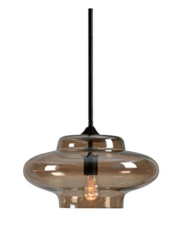 Kenroy Home 93036AMB Sanborn Pendants, Medium, Oil Rubbed Bronze Finsh