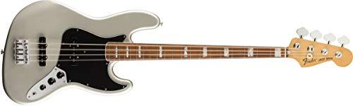 Fender Vintera '70s Jazz Bass - Diapasón Pau Ferro - Inca Silver