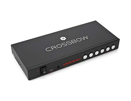 Crossbow 4x1 Seamless HDMI Multiviewer and Switch, Salt by Sewell