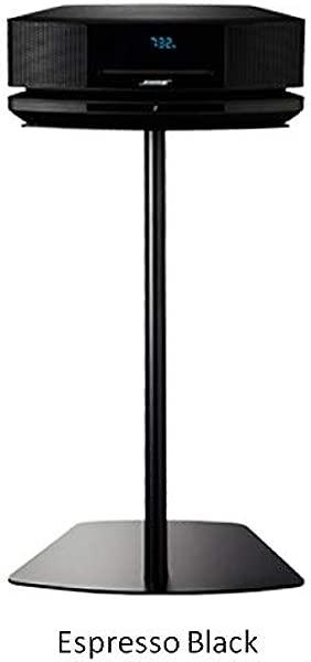 Bose Wave Floor Stand Pedestal Table Shelf Espresso Black