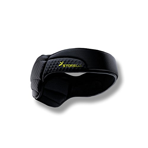 Storelli ExoShield Head Guard | Sports Headband | Protective Soccer Headgear | Black | Size 6