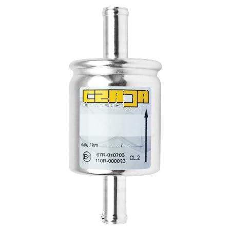 Gasfilter Fl01s 12x12mm Filter Für Autogas Lpg Cng Gasanlagen Universell Einsetzbar Für Alle Fahrzeuge Und Gasanlagen Z B Kme Brc Stag U A Auto