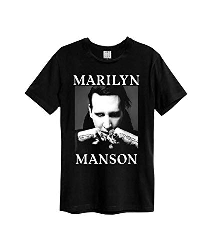 Amplified Shirt Marilyn Manson Fists Black