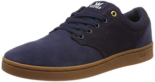 Supra Unisex-Erwachsene Chino Court Sneaker, Blau (Midnight-Gum 414), 40 EU