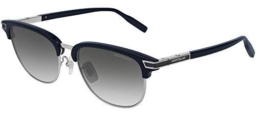 Gafas de Sol Mont Blanc MB0040S Black/Grey Shaded 56/18/150 hombre