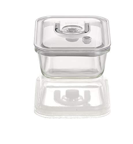 CASO VacuBoxx EL - eckig 1000ml - hochwertiger Design Vakuumbehälter, BPA-Frei, mikrowellengeeignet, hitzebeständig, spülmaschinengeeignet