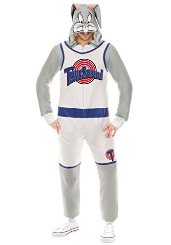 Space Jam Bugs Bunny Union Suit Fancy Dress Costume Small