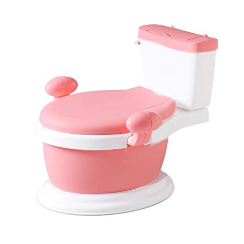 Toilette de Simulation pour Enfants Urinoir Pot bébé Bébé Homme et Femme Grand 1-6 Ans 3 Toilettes bébé