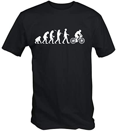 6TN Camiseta Estampada Hombre Evolución de Ciclismo