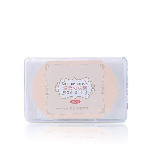 MoreLucky 1000 Stks/doos Katoen Make-up Remover Facial Cleansing katoenen reinigingsdoekjes Muslin Removal Pads Nagellak