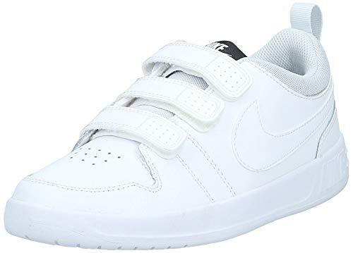 Nike Unisex-Kinder Pico 5 Tennisschuhe, Weiß (White/White/Pure Platinum 100), 36 EU