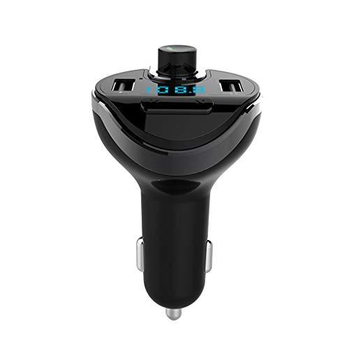 Forbestest T20 Auto freihändiger drahtloser Bluetooth Auto-MP3-Player FM Transmitter Radio-LCD Dual USB Ladegerät für Handy