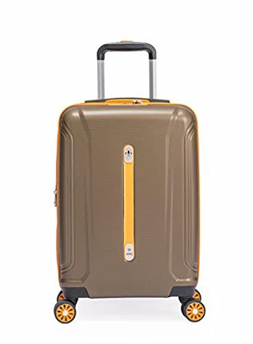 LYS Paris - Valigia da cabina retrò rigida ed estensibile in ABS, bronzo, Valise Cabine 'Rétro' rigide & Extensible ABS, Valigia