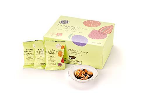 [Amazon限定ブランド] NUTS TO MEET YOUナッツ&ドライフルーツ(砂糖不使用) 30袋 個包装