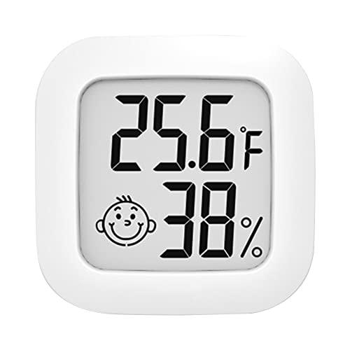 Haoxiu Termómetro digital con higrómetro y termómetro para interior, para habitación de bebé, para control del clima de la habitación