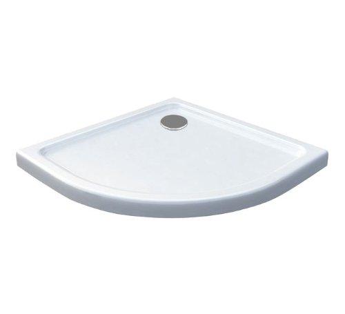 Duschtasse 80 x 80 cm (Viertelkreis)