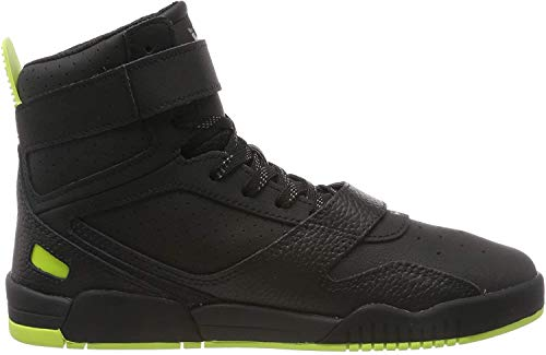 Supra Unisex Breaker Hohe Sneaker, Schwarz (Black/Lime-Black-M 18), 42 EU