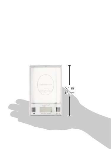 Weighmax HD200 All-in-One Digital Pocket Scale Deluxe Set, 200 x 0.01g, Stainless Steel