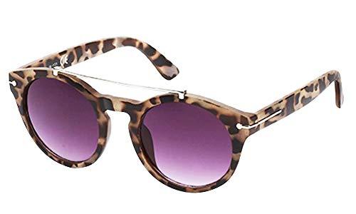 chic net sunglasses panto round
