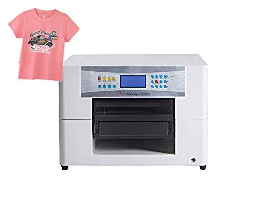 Macchina automatica per stampante DTG per t-shirt formato A3 per magliette, felpe, ecc.