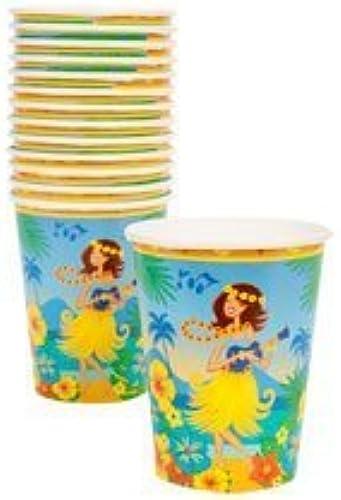 mejor servicio Luau Paper Party Kit 48 48 48 pc kit by verdebrier  a la venta
