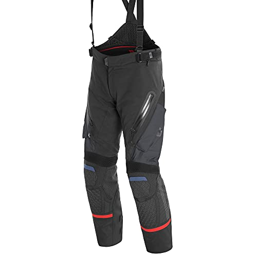 Dainese Antartica GoreTex Pantalone moto tessile Nero/Blu 56