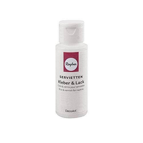 Rayher 38061000 Serviettenkleber, Flasche 59 ml