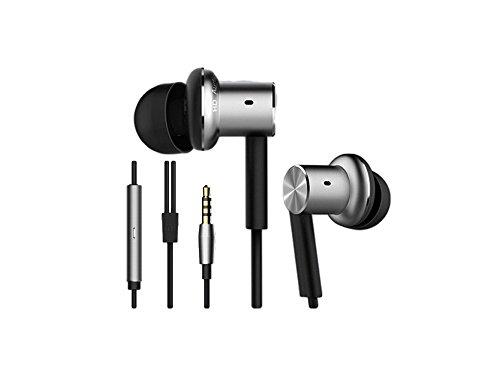 Xiaomi Mi In-Ear Pro Kopfhörer (In-Ear, Aluminium-Kopfhörer, Hybrid, Fernbedienung, Mikrofon) Silber