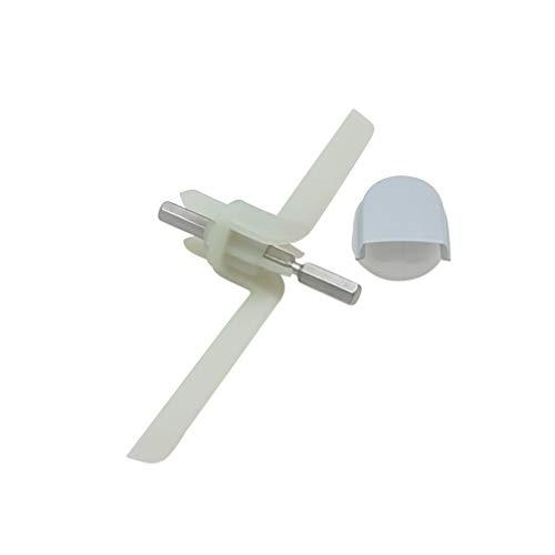 Set Mitnehmer 091027 & Kupplung Schnitzelwerk für Küchenmaschine Bosch MUM4 - MUZ4DS2 MUZ4DS3
