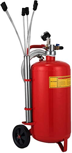 OldFe 22.7Liter Ölabsauggerät 8-10 bar Ölabsauger pneumatisch Pneumatik 12,5 kg Öl extraktor Ölwechsel