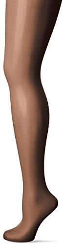 Fiore Damen Feinstrumpfhose ELIN/CLASSIC Strumpfhose, 10 DEN, Schwarz (Black 001), Large (Herstellergröße:4)