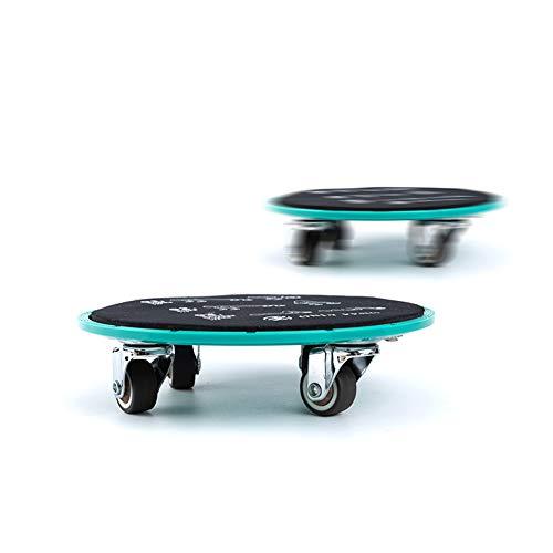 Wgwioo Abdominal Wheel Universal Roller Slide Plate Core Fitness Equipment for Men and Women,Green,2PCS