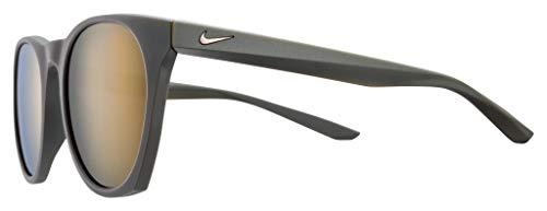 Nike Sun Heren Essentiële Horizon M Zonnebril, Zwart, 51 mm