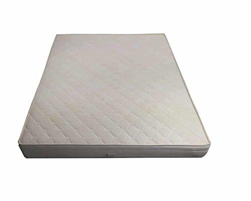Flexar Classic - Materasso semiortopedico a 400 Molle Tradizionali con Sistema Box Che Evita pressioni ai Bordi, Imbottitura in waterfoam e Rivestimento in Fibra anallergica (Dimensione 130x190)