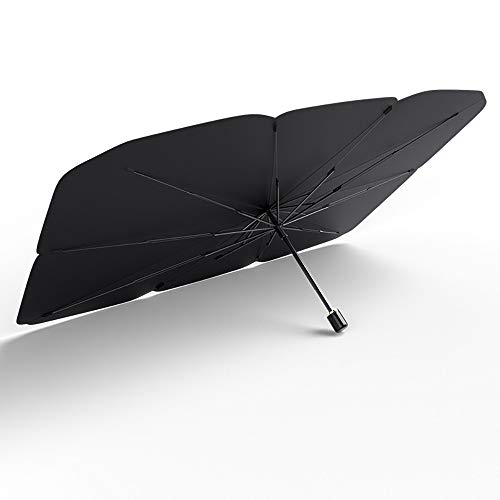 Pvnoocy - Parasol para parabrisas de coche, plegable, impermeable, UV, protección solar