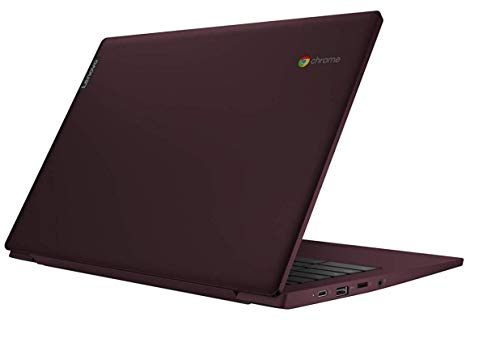 "Lenovo Chromebook S340 Notebook, Display 14"" Full HD IPS, Processore Intel Celeron N4000, Storage 64 GB, RAM 4 GB, Chrome OS, Dark Orchid"