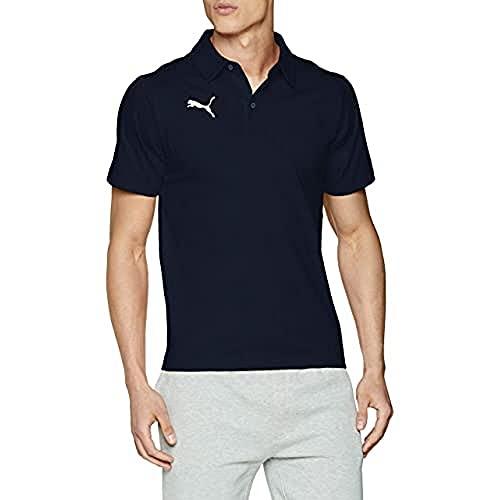 Puma Herren Poloshirt, Peacoat-Puma White, 3XL