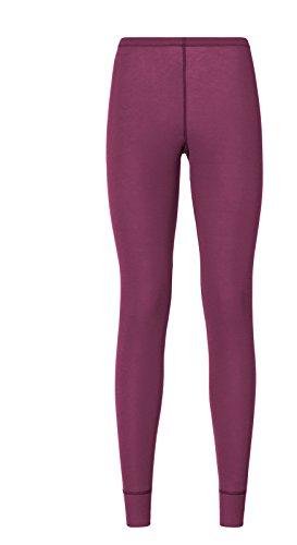 Odlo Warm St Pantalon de survêtement pour Femme Taille XL (Violet)