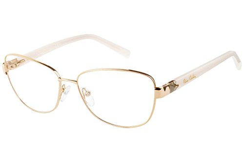 Pierre Cardin P.C. 8829 NWI 56 Gafas de sol, Blanco (Gold White), Mujer