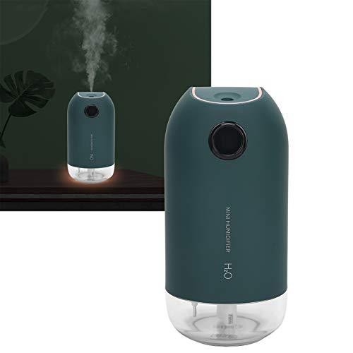Jiawu Humidificador de Aire Humidificador de Coche Portátil USB Recargable Mist Fogger Maker Mini humidificador Coche para el hogar(Dark Green, Pisa Leaning Tower Type)