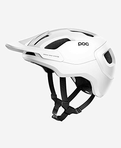 POC Axion Spin Casco da Ciclismo, Unisex-Adult, Matt White/Bianco, M/LG