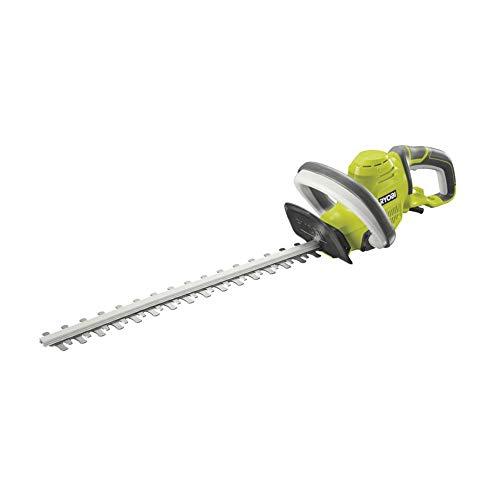 Ryobi RHT4550 RHT4550-Cortasetos eléctrico (espada de 50 cm, capacidad de corte de 20 mm, 450 W
