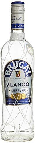 Brugal Blanco Supremo Premium Rum, gelagert und filtriert für ausgewogene Drinks, 40% Vol, (1 x 0.7 l)