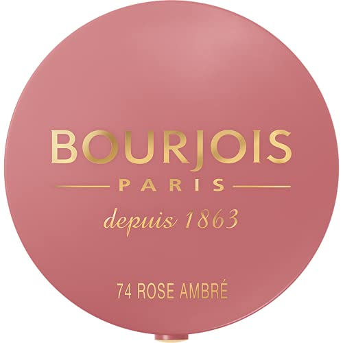 Bourjois - Little Round Pot Blush - Fard Illuminante Compatto - 74 Rose Ambre - 2.5 g