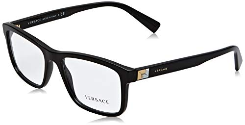 Versace Men's VE3253 Eyeglasses 55mm, Black, 55/17/145