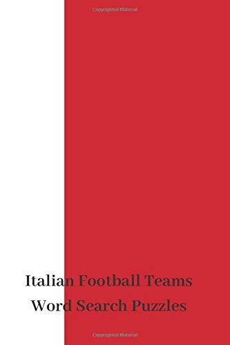 Italian Football Teams Word Search Puzzles