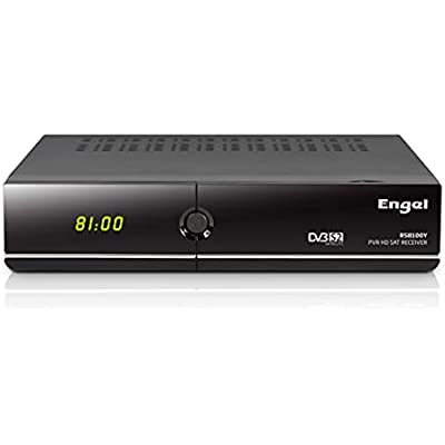 Engel RS8100Y - Receptor TV satélite HD PVR con WiFi, Negro